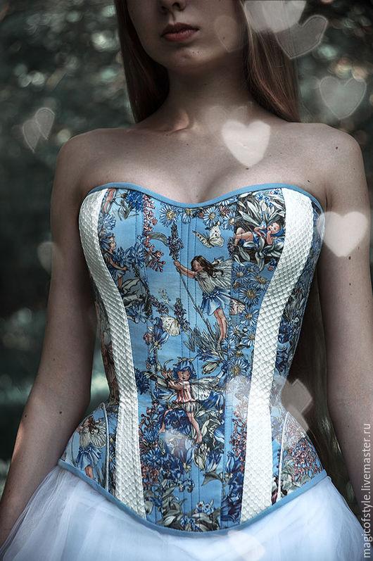 """Корсеты ручной работы. Ярмарка Мастеров - ручная работа. Купить Корсет """"Princess fairy"""". Handmade. Комбинированный, корсет утягивающий, феи"""