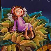 """Картины и панно ручной работы. Ярмарка Мастеров - ручная работа Картина """"Август"""". Handmade."""