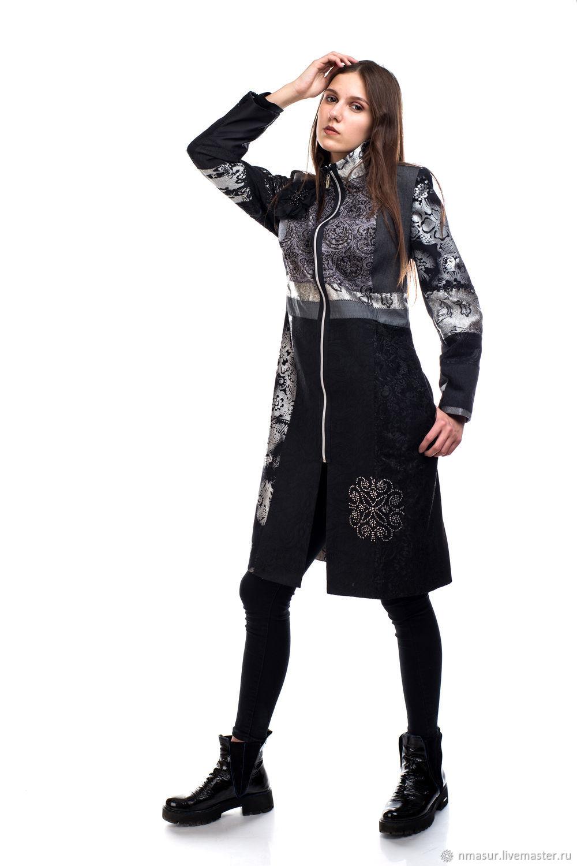 Author cloak patchwork 1, Raincoats and Trench Coats, Novosibirsk,  Фото №1