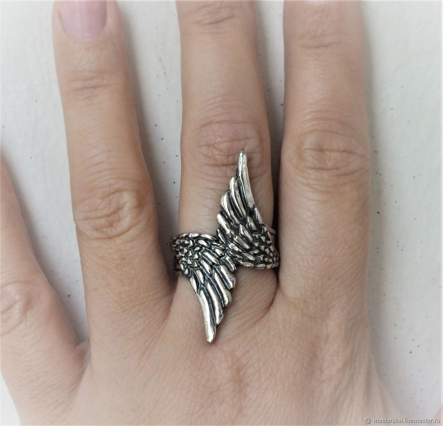 Ring: ' Wings ' - 925 silver, Rings, Moscow,  Фото №1