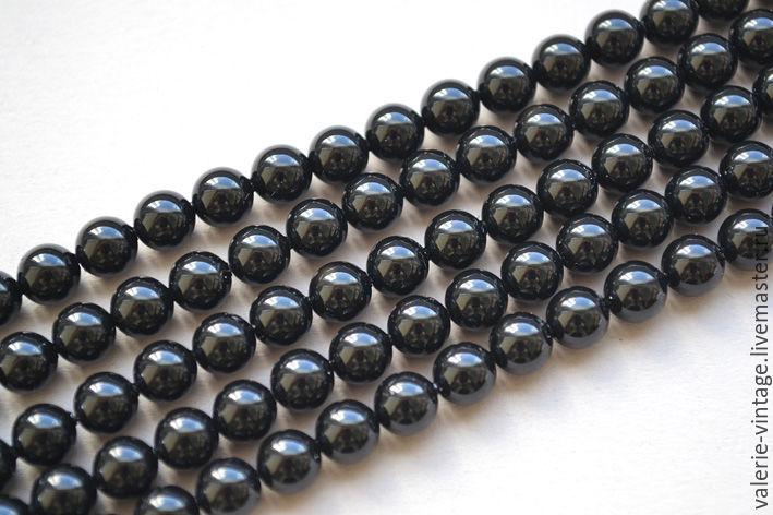 Pearls Swarovski 6mm Mystic Black, Beads1, Moscow,  Фото №1