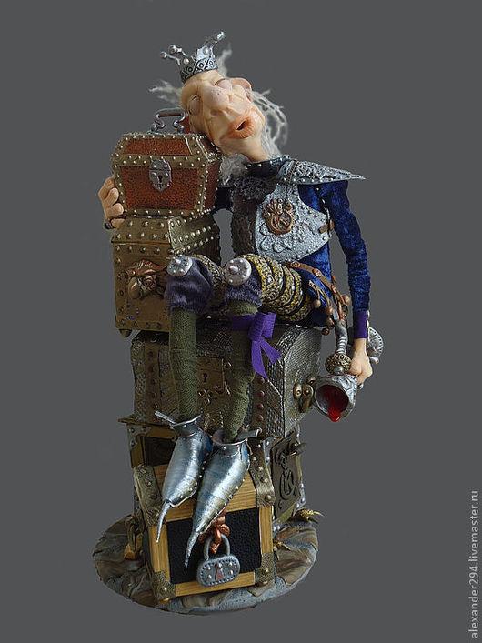 Коллекционные куклы ручной работы. Ярмарка Мастеров - ручная работа. Купить Кощей(Бессмертный). Handmade. Кукла, картон