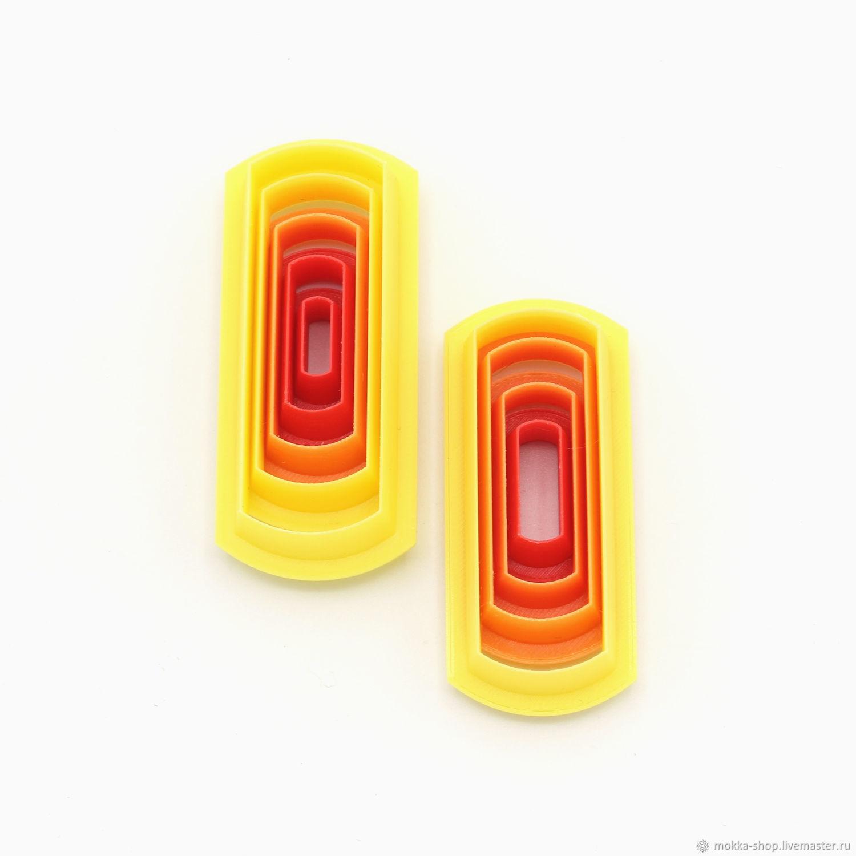 Каттеры для полимерной глины. Набор № 25, Каттеры, Москва,  Фото №1