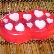 Косметика ручной работы. Ярмарка Мастеров - ручная работа Мыло Для любимых гостей :) с сердечками. Handmade.