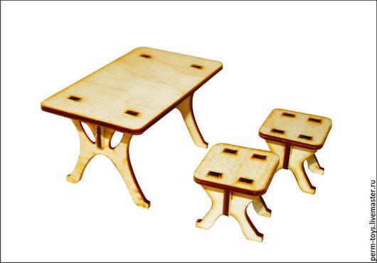 Декупаж и роспись ручной работы. Ярмарка Мастеров - ручная работа. Купить Стол и стулья. Handmade. Стол, столик, стул, стульчик