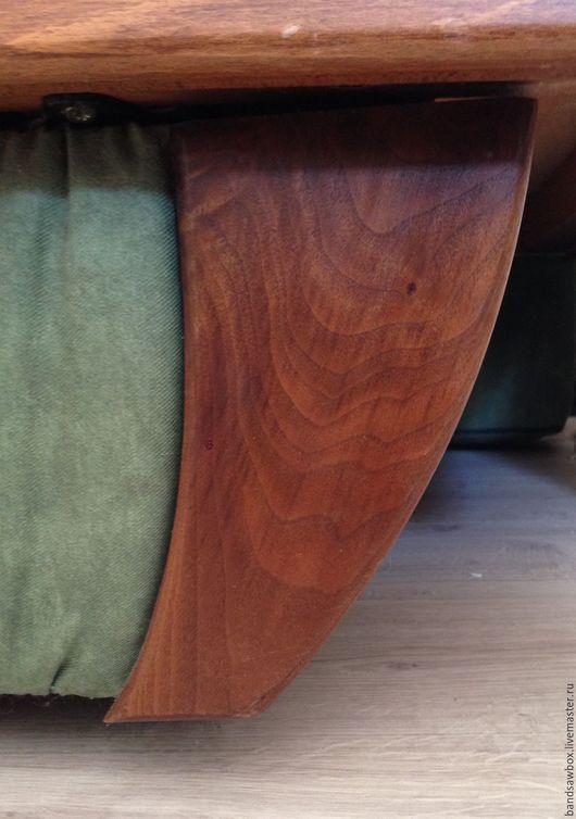 """Мебель ручной работы. Ярмарка Мастеров - ручная работа. Купить """"Анти коготь"""". Угловой элемент цоколя дивана.. Handmade. Натуральный"""