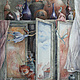 "Постер с картины ""Обитатели моего шкафчика"", Картины, Москва,  Фото №1"