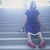 """Одежда ручной работы. Ярмарка Мастеров - ручная работа платье """"идеальный синий"""". Handmade."""