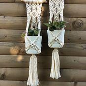 Цветы и флористика handmade. Livemaster - original item Planter for flowers. Handmade.