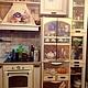 Декор поверхностей ручной работы. Ярмарка Мастеров - ручная работа. Купить Роспись холодильника и вытяжки. Handmade. Роспись техники