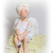 Куклы и игрушки handmade. Livemaster - original item Christmas White Angel. Handmade.
