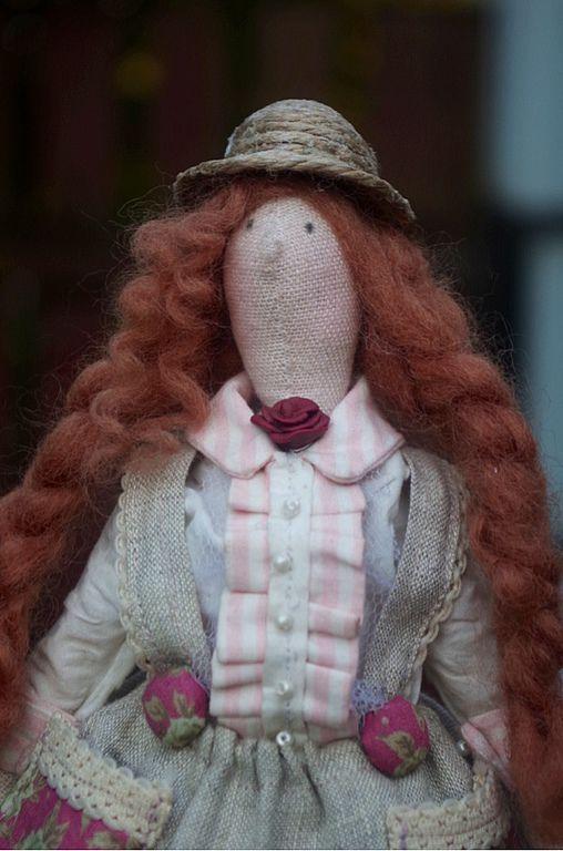 Куклы Тильды ручной работы. Ярмарка Мастеров - ручная работа. Купить тильда Елизавета. Handmade. Тильда кукла, винтаж