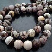 Материалы для творчества handmade. Livemaster - original item Jasper smooth bead ball 12mm. Handmade.