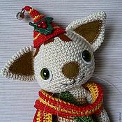 Куклы и игрушки ручной работы. Ярмарка Мастеров - ручная работа Котенок Финдус. Handmade.