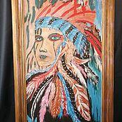 """Картины ручной работы. Ярмарка Мастеров - ручная работа Картина """"Абстракция"""". Handmade."""