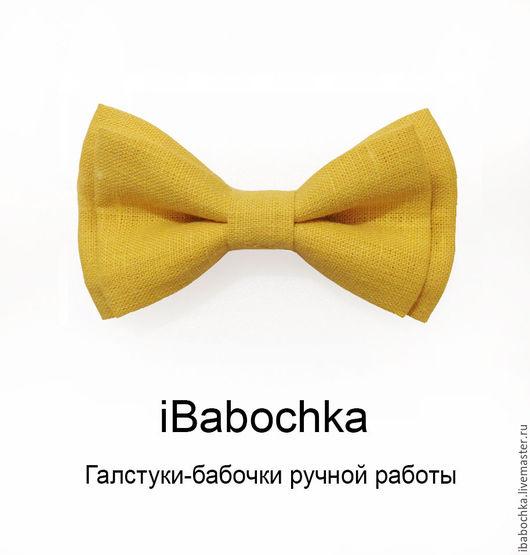 Желтая бабочка, ручная работа iBabochka