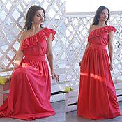 Одежда ручной работы. Ярмарка Мастеров - ручная работа Платье Каролина. Handmade.