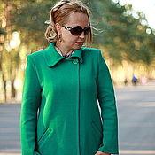 "Одежда handmade. Livemaster - original item Knitted cardigan""Forest Green-2"". Handmade."