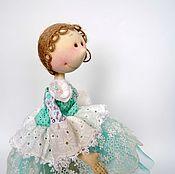Куклы и игрушки ручной работы. Ярмарка Мастеров - ручная работа Текстильная кукла Бирюза. Handmade.