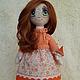 Текстильная кукла ручной работы. Кукла Агния.