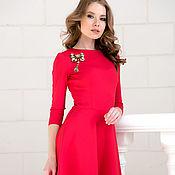 Одежда handmade. Livemaster - original item Dress coral bell. Handmade.