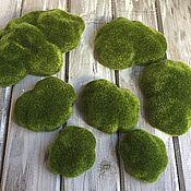 Материалы для творчества ручной работы. Ярмарка Мастеров - ручная работа Камни (кочки) искусственный мох. Handmade.