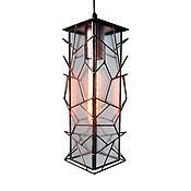 Для дома и интерьера handmade. Livemaster - original item Nick`s pendant lamp geometric style. Handmade.