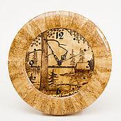 """Для дома и интерьера ручной работы. Ярмарка Мастеров - ручная работа Часы настенные """"Природа"""". Handmade."""