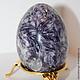 Яйца ручной работы. Ярмарка Мастеров - ручная работа. Купить Яйцо из камня ЛЕПИДОЛИТ. Handmade. Подарок, натуральные камни, лепидолит