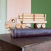 Техника, роботы, транспорт ручной работы. Ярмарка Мастеров - ручная работа Деревянный грузовик. Handmade.