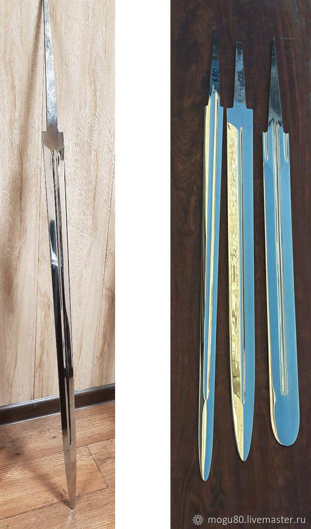Клинок для меча, Другое бутафорское оружие, Москва,  Фото №1