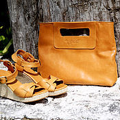 Сумки и аксессуары handmade. Livemaster - original item Bag genuine leather Molly. Handmade.