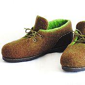 Обувь ручной работы. Ярмарка Мастеров - ручная работа Женские осенние туфли.. Handmade.