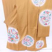 Винтажная одежда ручной работы. Ярмарка Мастеров - ручная работа ШОК-ЦЕНААнтикварное праздничное Фурисоде Кариэба. Handmade.