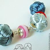 Украшения ручной работы. Ярмарка Мастеров - ручная работа Бусы Розовая дымка. Handmade.