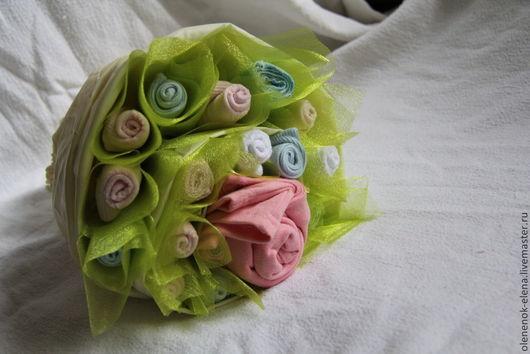 """Подарки для новорожденных, ручной работы. Ярмарка Мастеров - ручная работа. Купить Букет из носочков и одежды  """"Для маленькой принцессы"""". Handmade."""