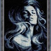 Картины и панно ручной работы. Ярмарка Мастеров - ручная работа Искушение. Ручная вышивка.. Handmade.