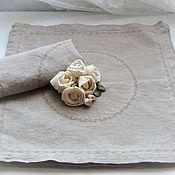 Для дома и интерьера handmade. Livemaster - original item HAMPTON-serving napkins (set of 6 PCs). Handmade.