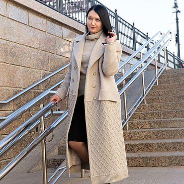 """Одежда ручной работы. Ярмарка Мастеров - ручная работа Пальто """"Икона стиля"""". Handmade."""