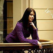 """Одежда ручной работы. Ярмарка Мастеров - ручная работа Узорчатый пуловер """"Венеция"""". Handmade."""