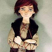 Куклы и пупсы ручной работы. Ярмарка Мастеров - ручная работа Авторская текстильная кукла. Иккинг. Handmade.