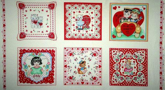 Шитье ручной работы. Ярмарка Мастеров - ручная работа. Купить панель My Funny Valentine, 59х112 см.. Handmade.