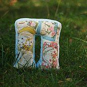 Для дома и интерьера ручной работы. Ярмарка Мастеров - ручная работа Мягкая подушка-буква П. Handmade.