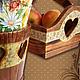"""Кухня ручной работы. Набор для кухни """"Деревенское очарование"""". Ms PO. Ярмарка Мастеров. Банки для продуктов, подарок на новоселье"""