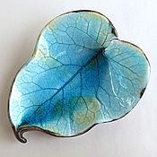 Для дома и интерьера handmade. Livemaster - original item ceramic leaf
