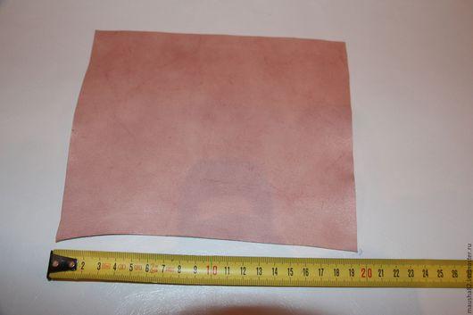 Шитье ручной работы. Ярмарка Мастеров - ручная работа. Купить кожа в кусках (фактурная розовая). Handmade. Кремовый, кожа