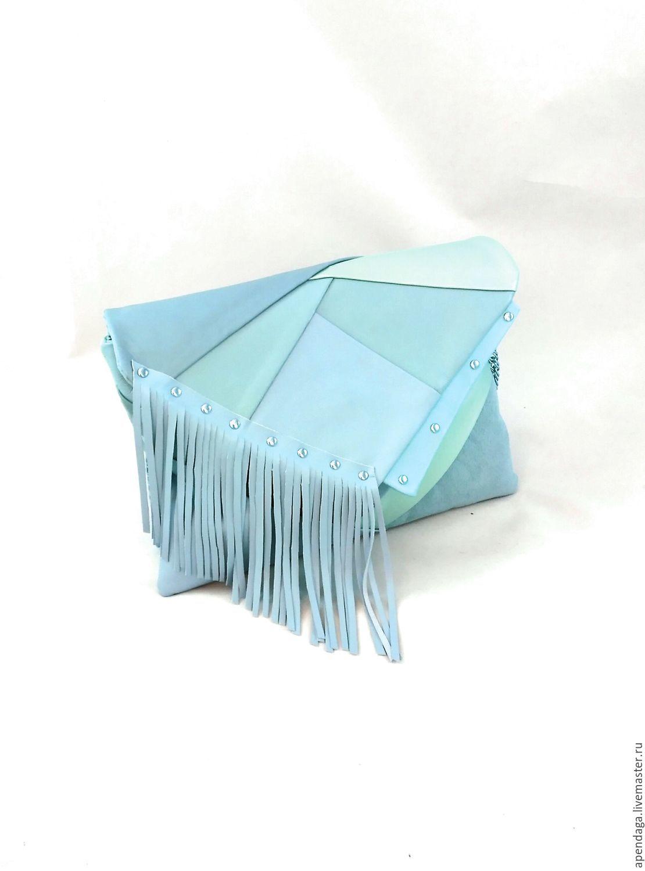 Bag summer blue 'Donna Laguna', Classic Bag, Ulyanovsk,  Фото №1