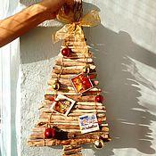 Подарки к праздникам handmade. Livemaster - original item Driftwood Christmas tree Winter Norway. Handmade.