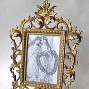 Винтаж handmade. Livemaster - original item Antiq Frame Classic Openwork under the Photo of the Mirror like Patt. Handmade.