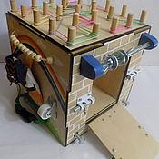 Куклы и игрушки handmade. Livemaster - original item Basebord in the form of a cube